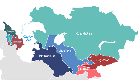 as the countries of central asia and south caucasus celebrate the 25th anniversary of their independence both regions are defined by two important factors