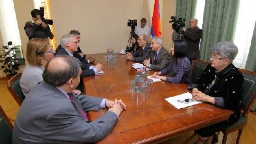 ARMENIAN ATTEMPTS FOR THE RECOGNITION OF NAGORNO KARABAKH AND BELGIAN PARLIAMANTERIANS' VISIT TO STEPANAKERT