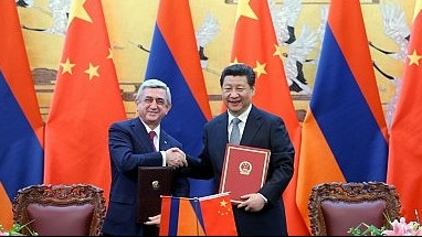 COMMENTARY: CHINA'S GROWING PRESENCE IN THE CAUCASUS